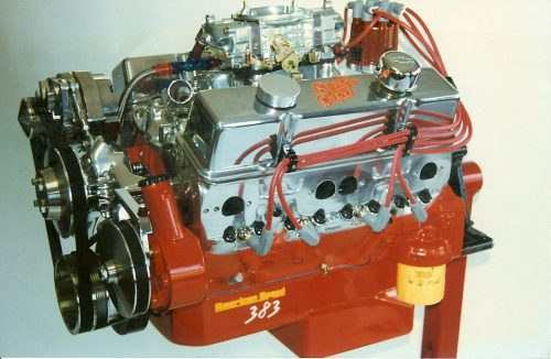engine on stand